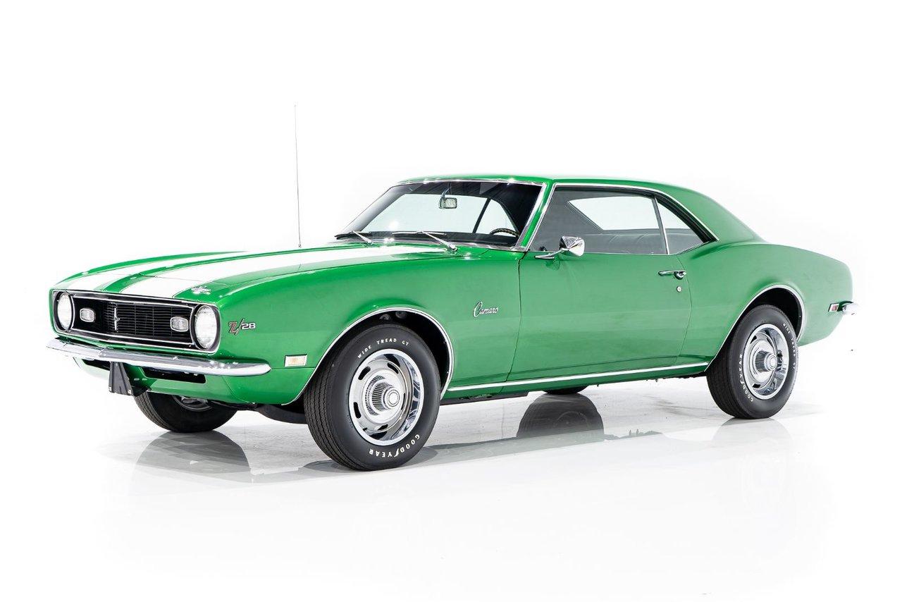 Chevrolet CAMARO Z28 Matching Numbers 302cu.in. 4-Speed 1968