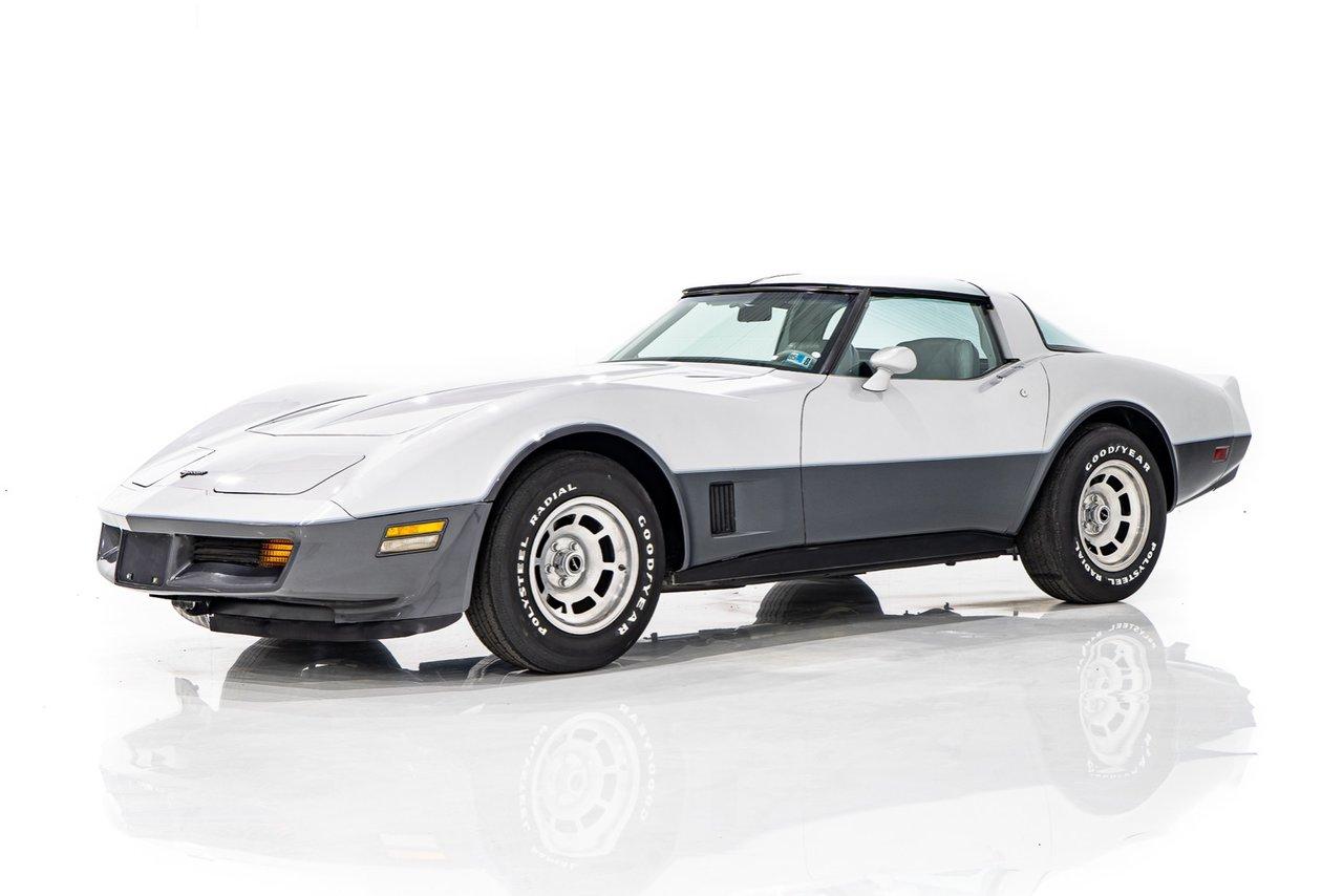 Chevrolet Corvette En état complètement original avec seulement 26,877Km (16701mi) 1981