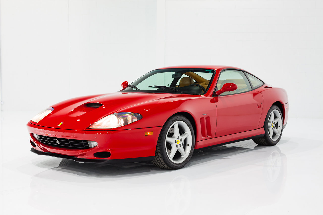 Ferrari 550 Maranello Entièrement entretenu  Avec Livre et 6 Vitesses - Seulement 1790 mi (2880 km) 1999