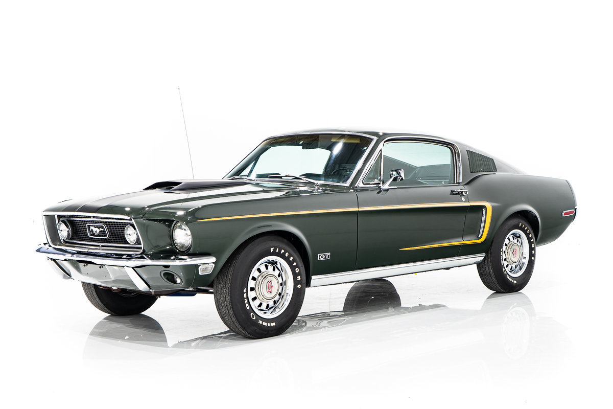 Ford Mustang GT Matching Numbers 428 CobraJet 4-speed avec Marti Report 1968