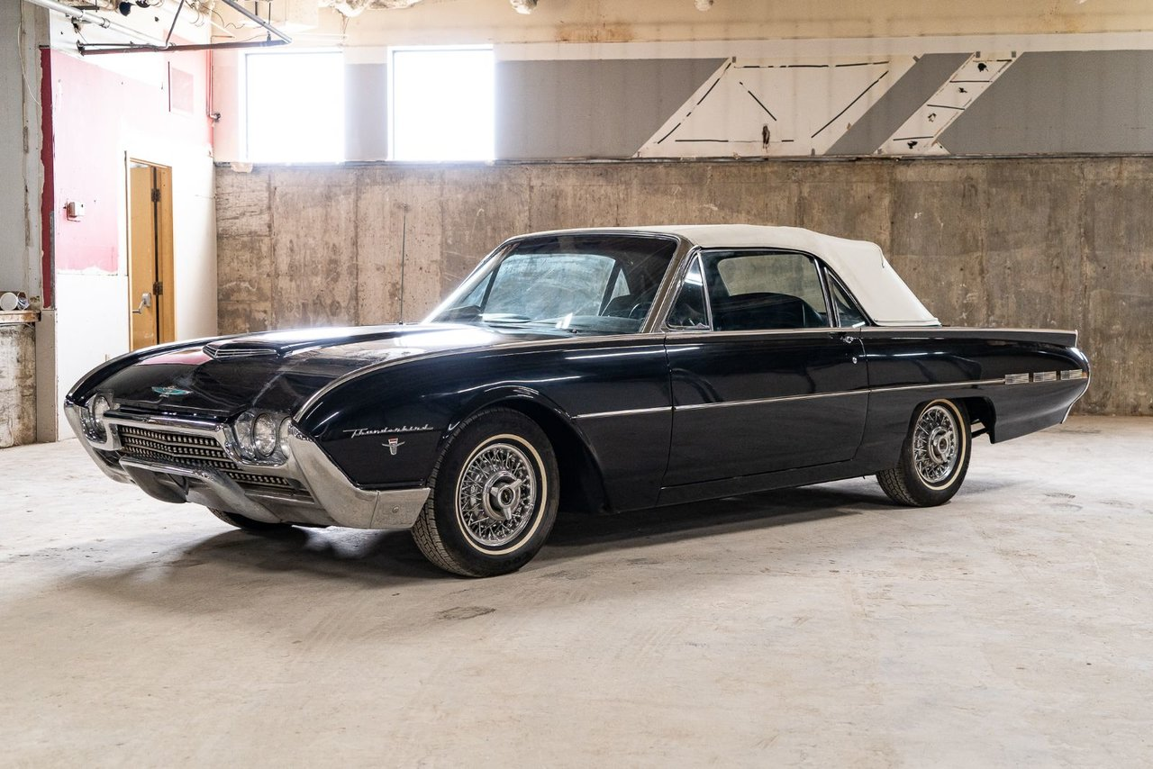 Ford Thunderbird Roadster project car Extremely rare 1962
