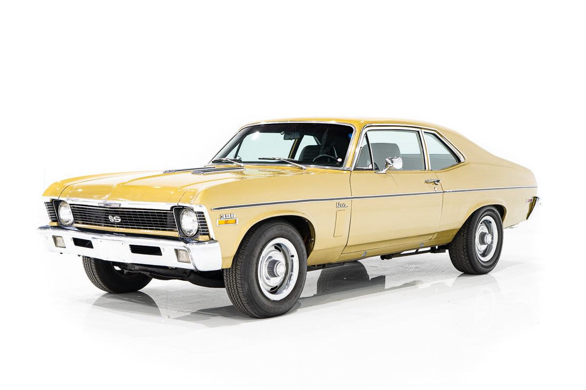 1970 Chevrolet Nova With GM Canada Paperwork, delivered new with an L78