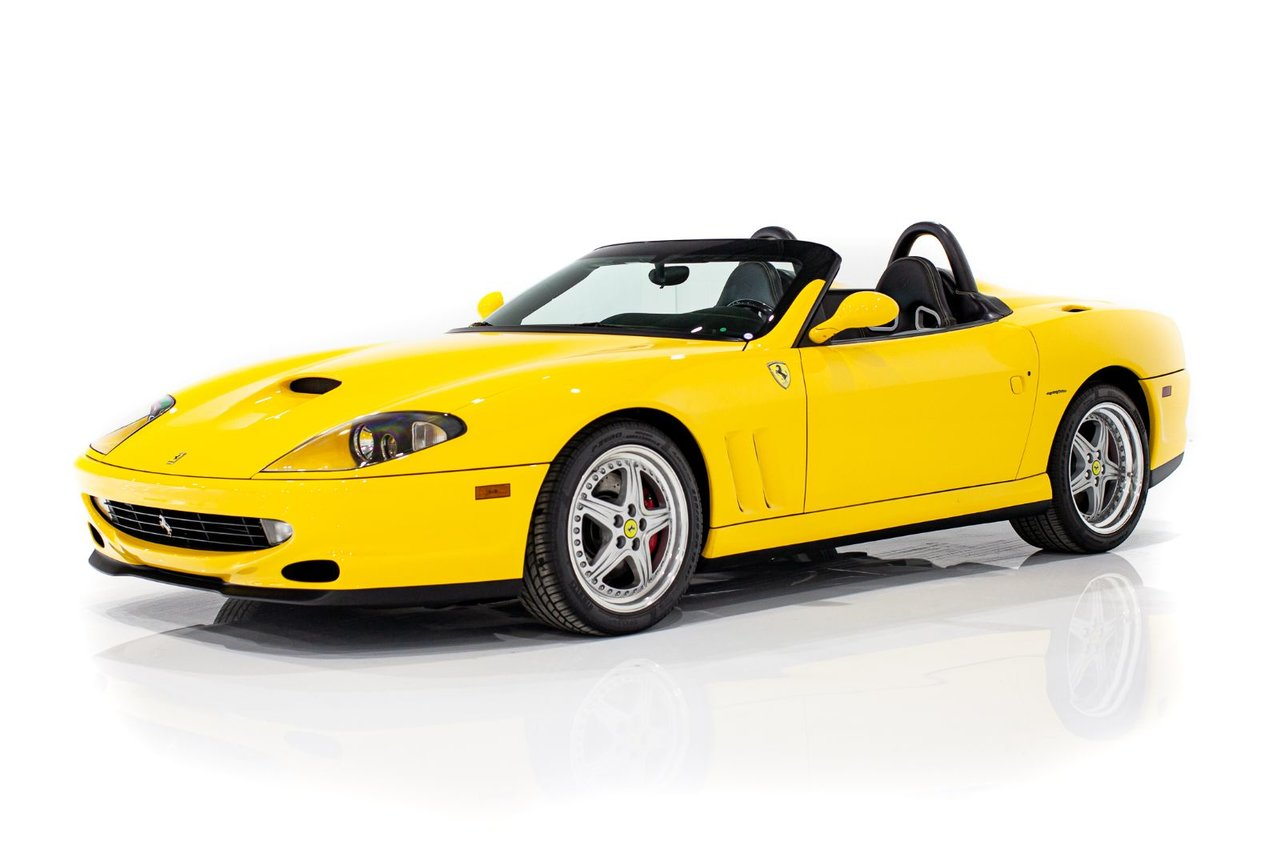 2001 Ferrari 550 Barchetta 6-Speed Gated, No. 412/448, Only 3,171mi (5,103km) Complete with Books and Tools
