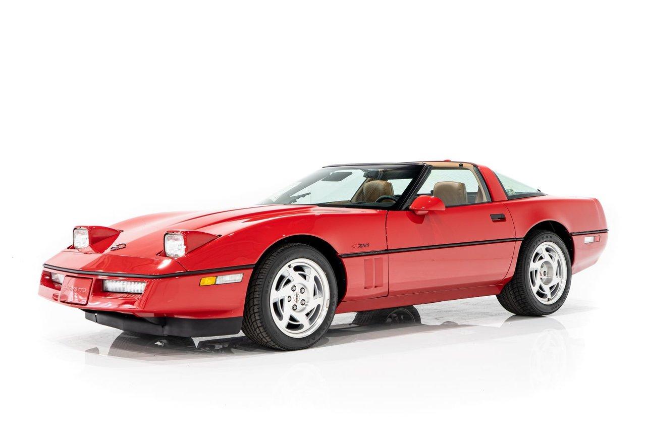 Chevrolet Corvette  1990 #CORV-PC1250
