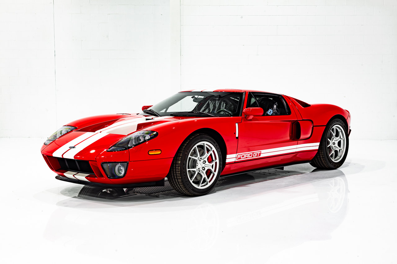 2006 Ford GT 3.7MI (6KM) FROM NEW - ONE PREVIOUS OWNER - PRESENTED IN DELIVERY PLASTICS