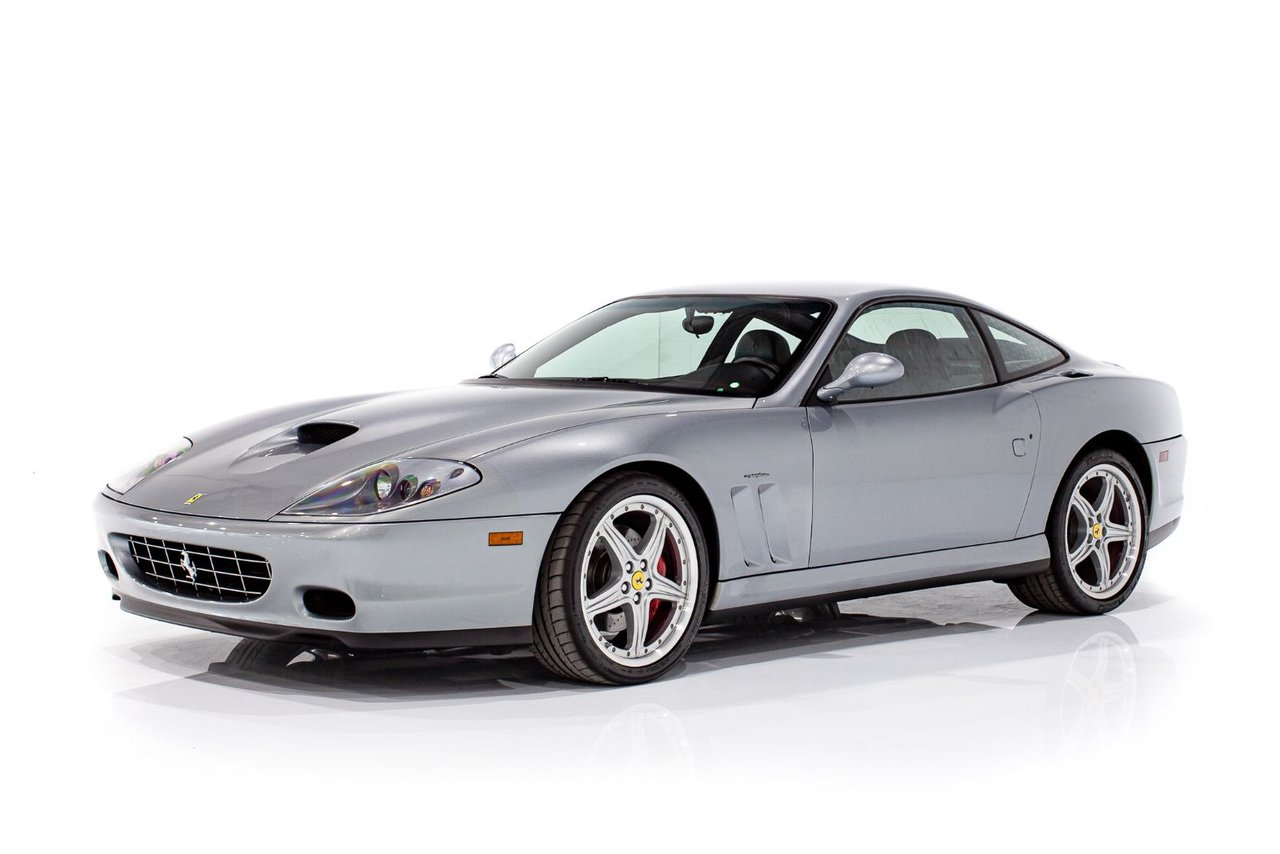 2004 Ferrari 575M MARANELLO With 16,967Km(10,543mi) - Complete Service with Books and Tools