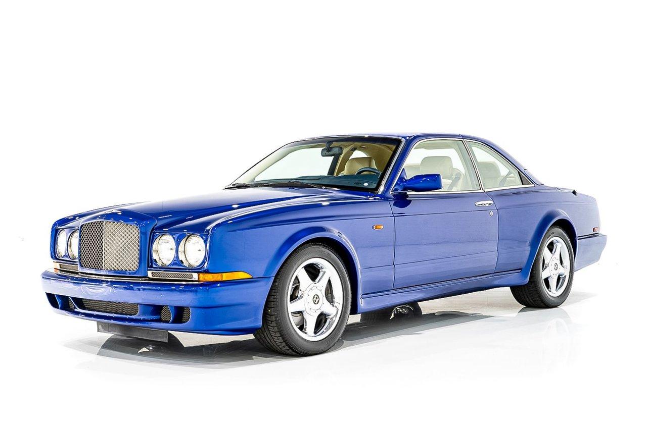 """Bentley Continental T """"Wide Body"""" Entretien Complet - Fini en superbe et rare mica pailleté bleu 1998"""