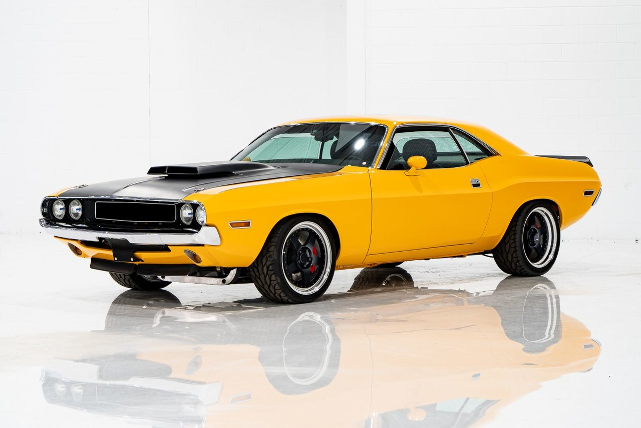 Dodge Challenger Resto Mod with over 270,000USD invested in the restoration 1973
