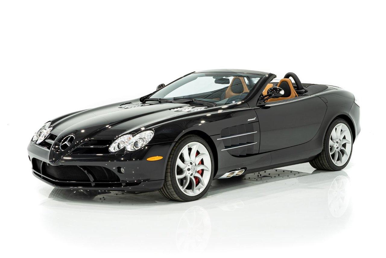 Mercedes-Benz SLR MCLAREN Roadster - Un propriétaire précédent - Seulement 709 km (443mi) de nouveau 2009