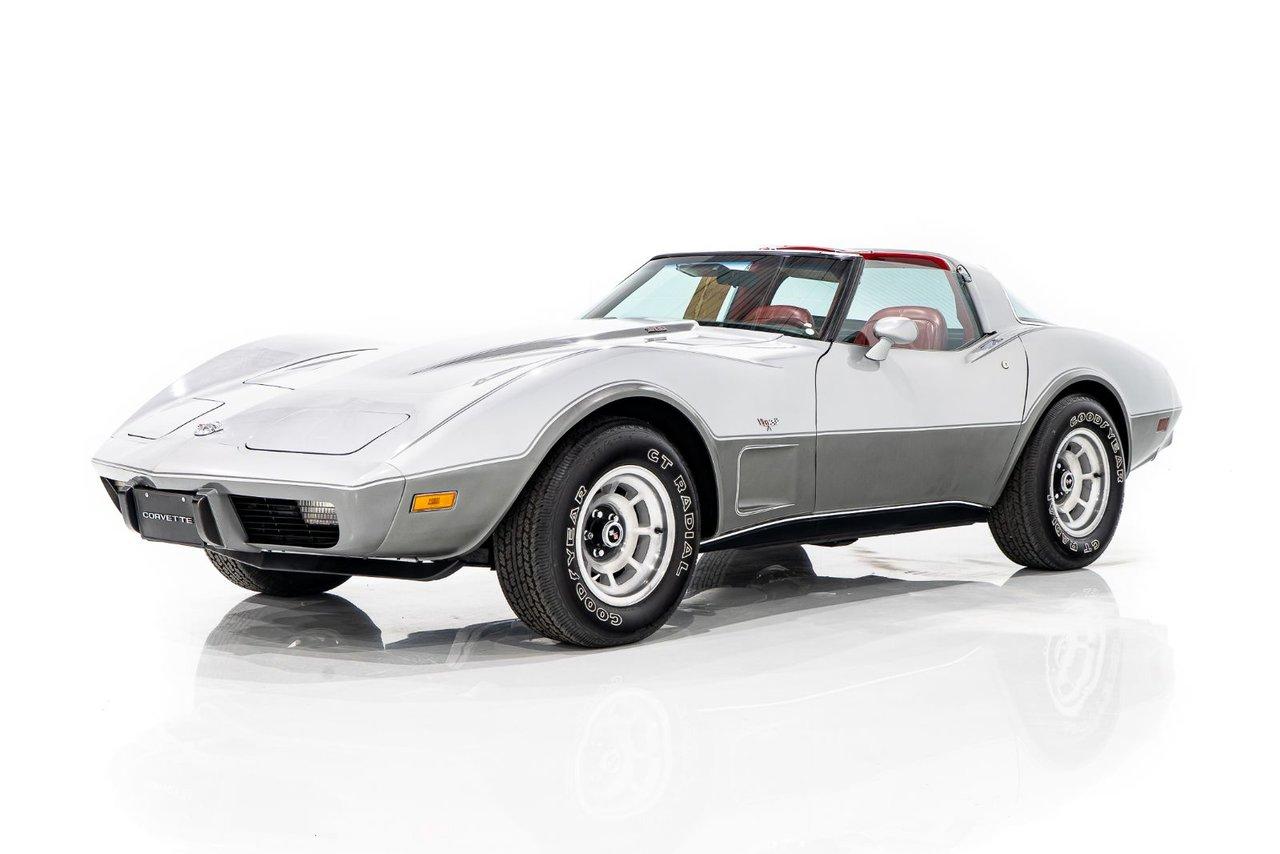 Chevrolet Corvette 25th Anniversary With Only 18 mi 1978 #COR-P7967