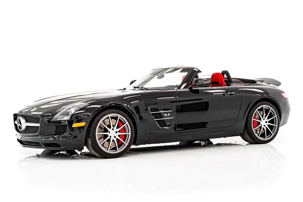 Mercedes-Benz SLS AMG 1 seul propriétaire avec seulement 12,909 KM (8,068mi) Certifié EPA / DOT 2012