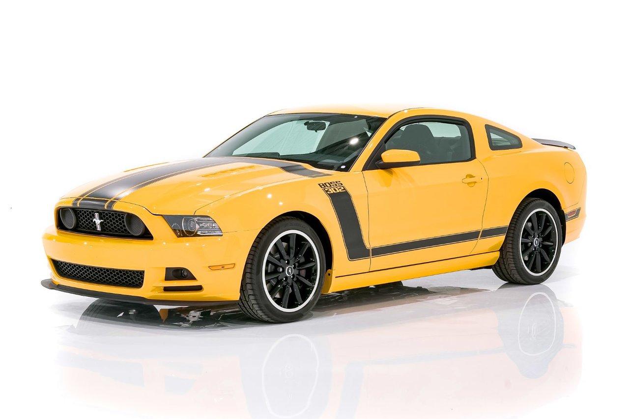 Ford Mustang Boss 302 Seulement 1,428Km (887mi) 2013