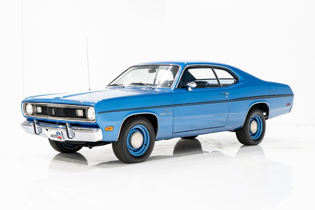 Plymouth Duster 340cu.in. 4-Speed in very original condition, one single repaint 1970