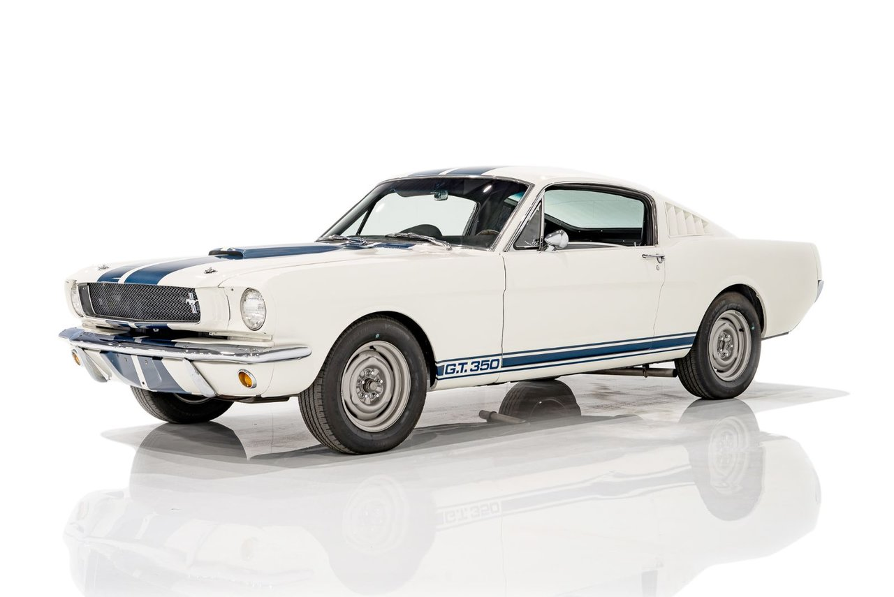 Shelby GT350 Registry certified, Documented complete restoration 1965