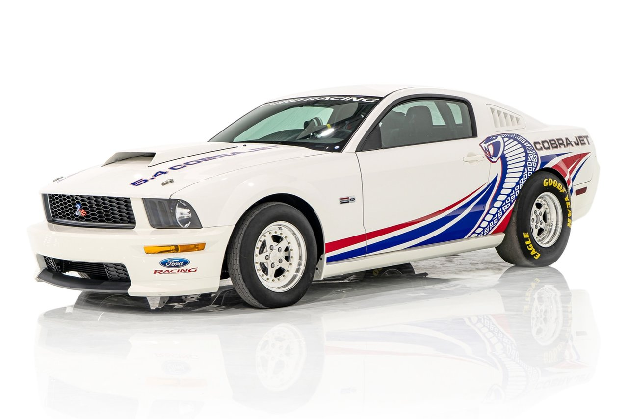 2008 Ford Mustang FR500CJ Factory Race Car / Never Raced / #31 of 50 / Ford Promo Car with Desirable Livery