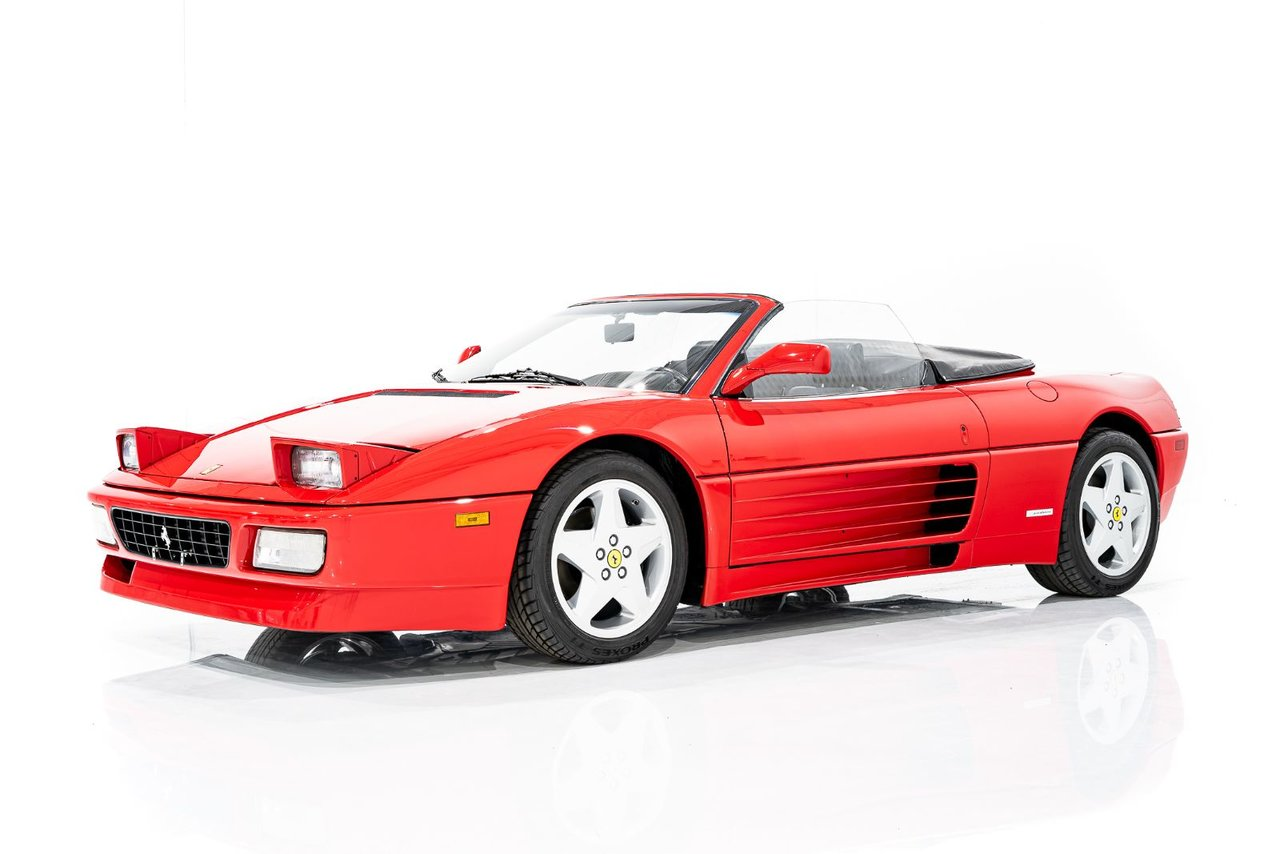 Ferrari 348 Spider SERVICE COMPLETED WITH ONLY 12,757KM (7926MI) INCLUDING BOOKS AND TOOLS 1994