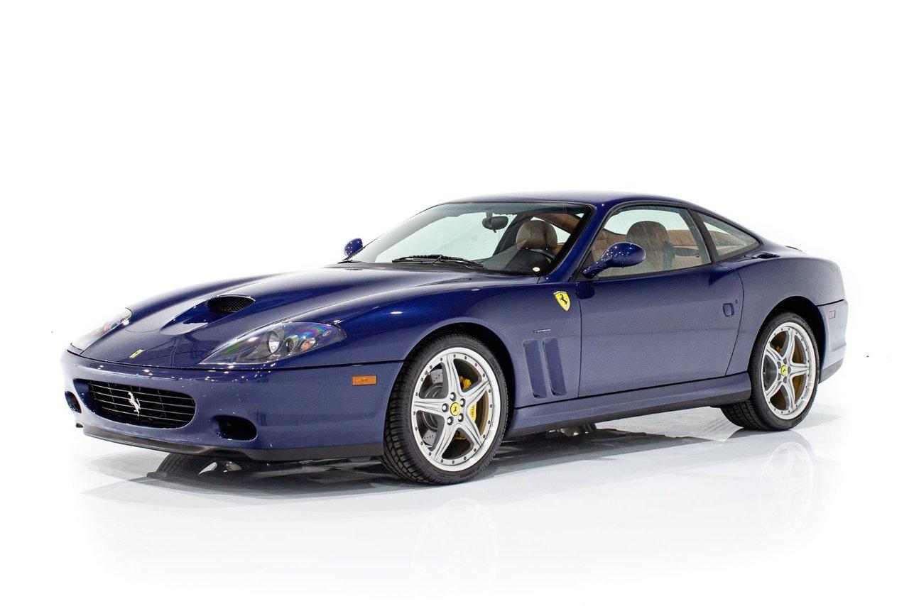 Ferrari 575 MARANELLO Entretient recent avec couleur et options désirables. Complète avec livres et outils 2003