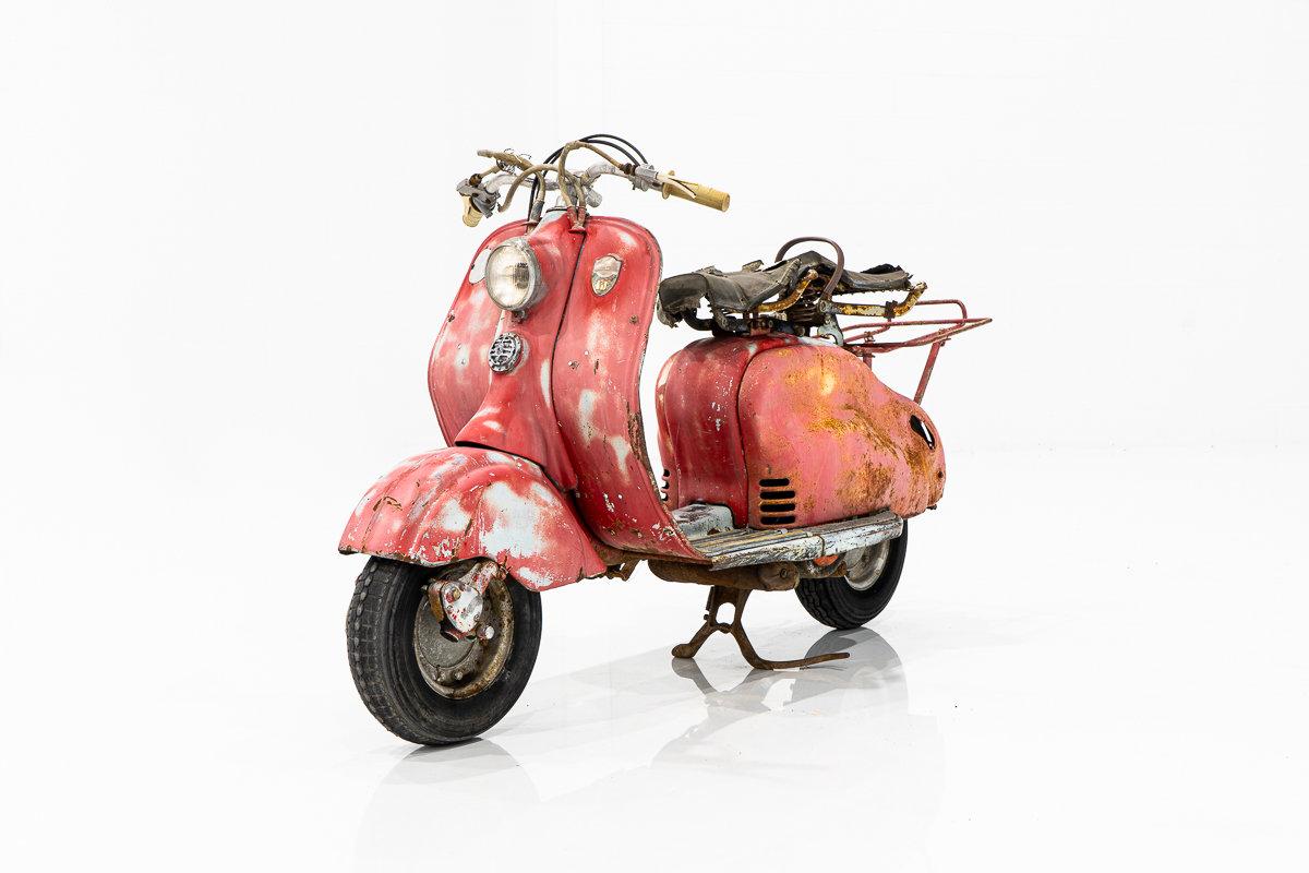 1955 Innocenti Lambretta 150 LD Rare Classic Italian Scooter for Restoration Project