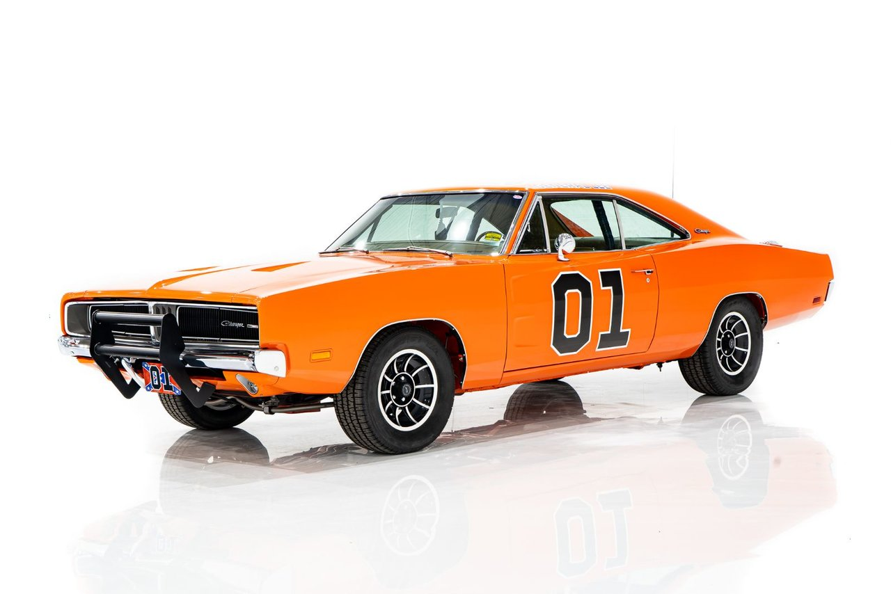 1969 Dodge Charger RT Replica of the Iconic General Lee
