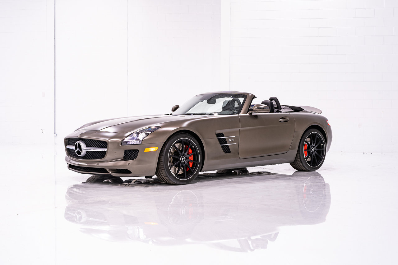 Mercedes-Benz SLS AMG FINISHED IN RARE FACTORY SEPANG BROWN- WITH ONLY 9,115KM (5,663MI) FROM NEW 2012