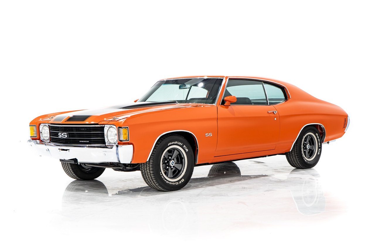 1972 Chevrolet Chevelle SS Completely Restored GM of Canada Paperwork Matching Numbers 402 cu in LS3