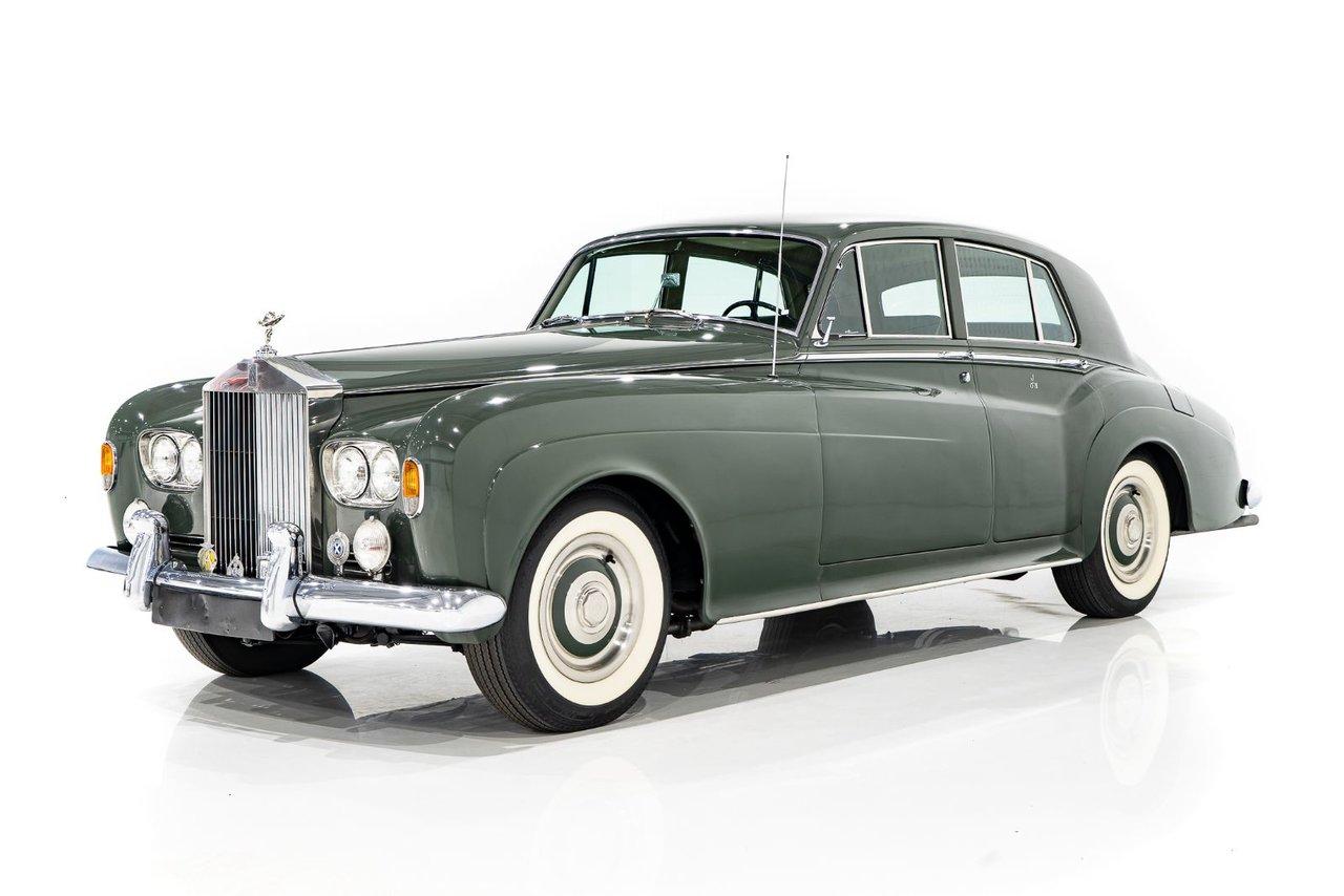 Rolls-Royce Silver Cloud 3 Projet non-restoré avec AC d'origine 1965