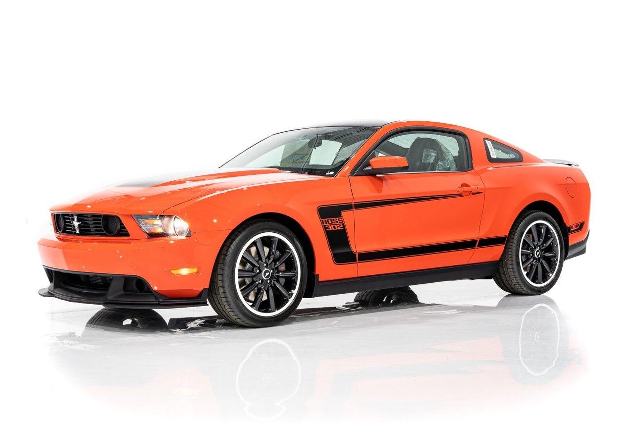Ford Mustang Boss 302 Seulement 12 KMs (8mi) avec les Plastiques d'amballage d'origine -  Un propriétaire précédent 2012