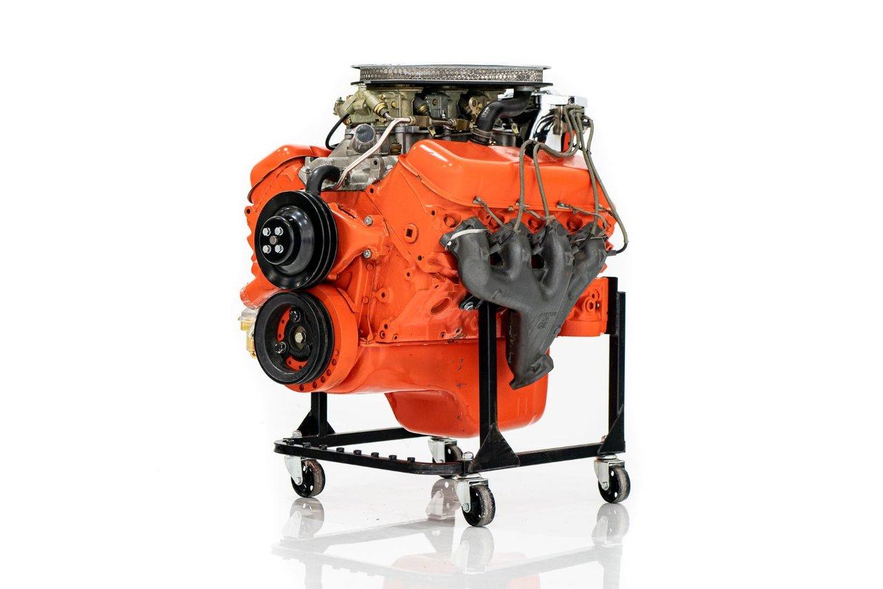 Chevrolet 427/435 Engine Moteur Tripower Original d'usine, Jamais installé ni étampé 1967