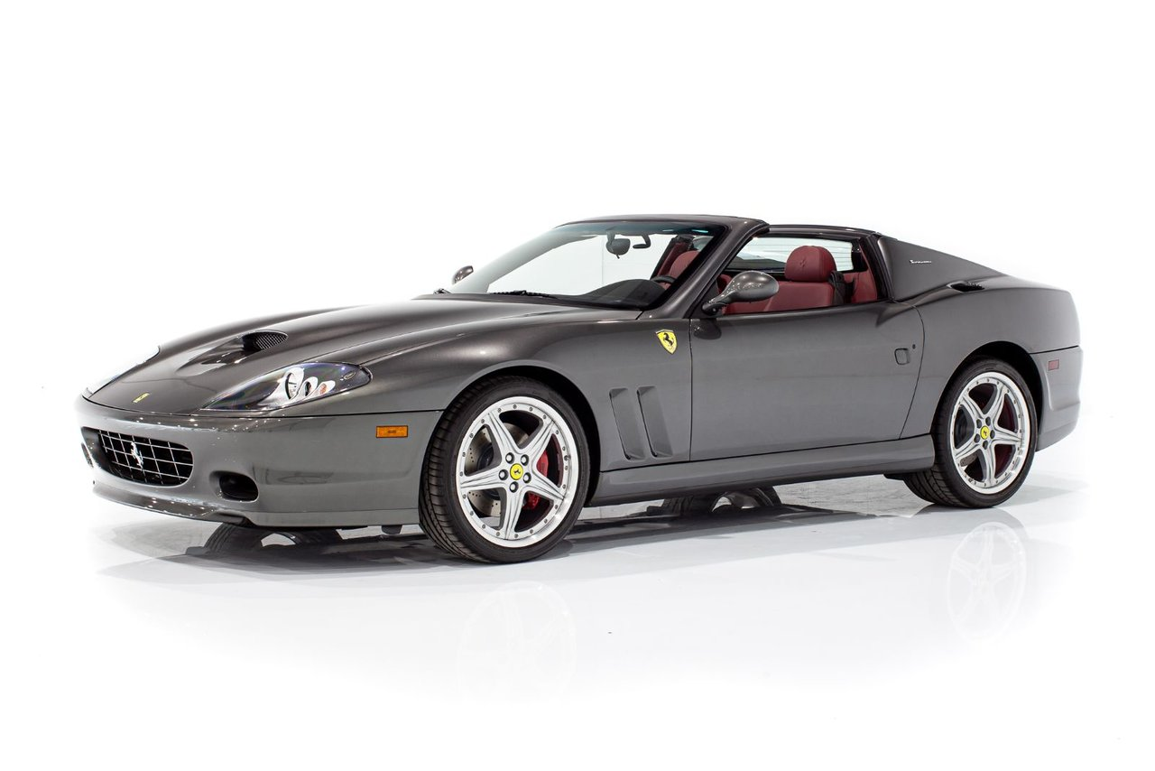 2005 Ferrari 575 Superamerica 1 Of 599 Only 2,357mi (3,793km) From New Complete with Books and Tools