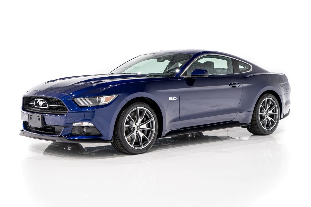Ford Mustang GT 50th Anniversary Edition with only 29km (18miles) From New 2015
