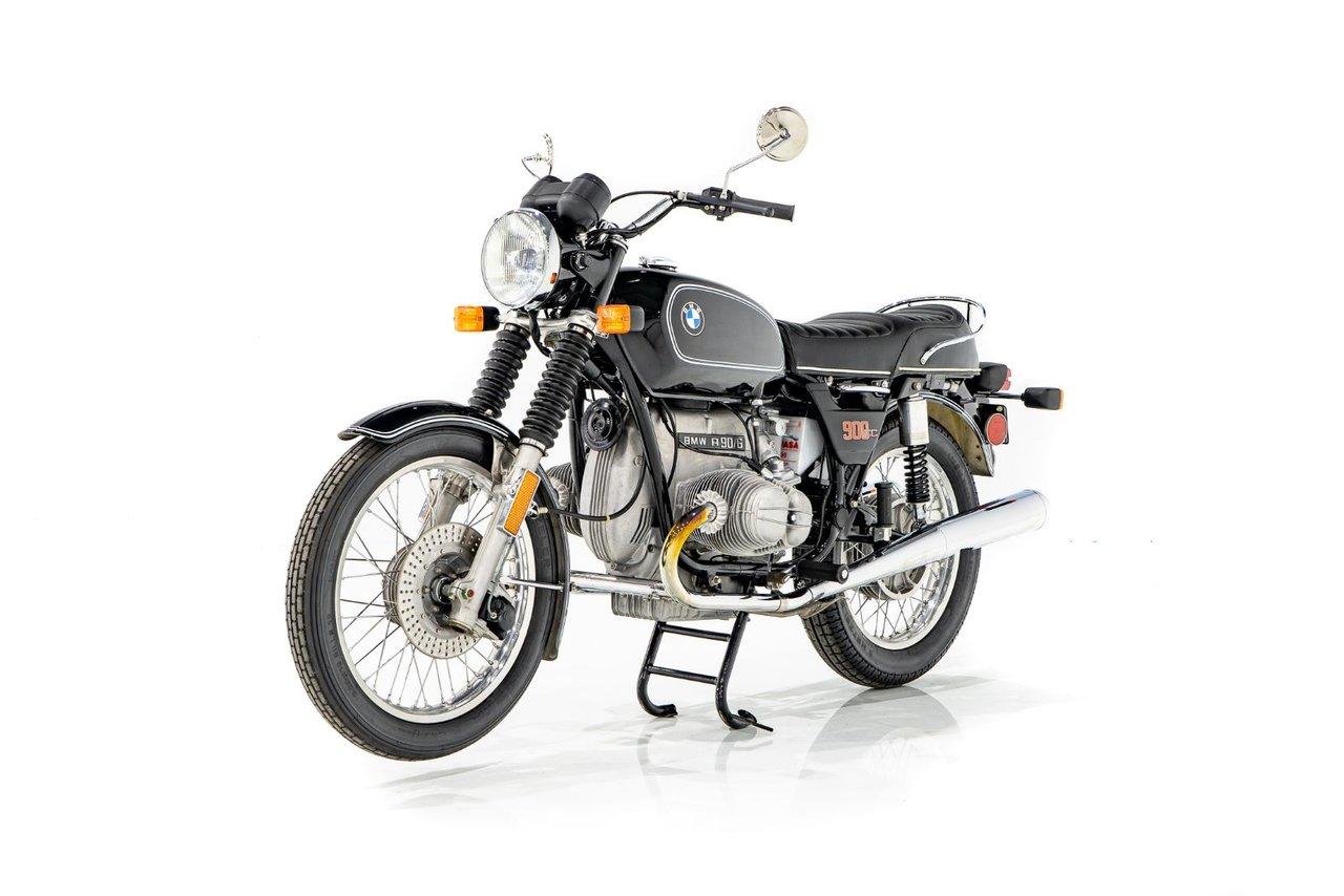 BMW R90S Non-restorée avec seulement 165km (13miles) 1976