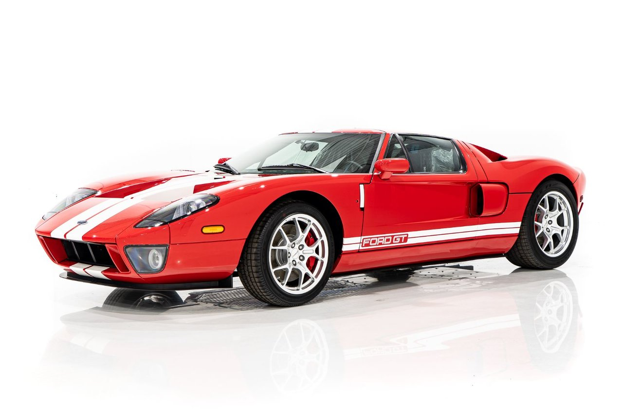 Ford GT 103 miles from new 2006