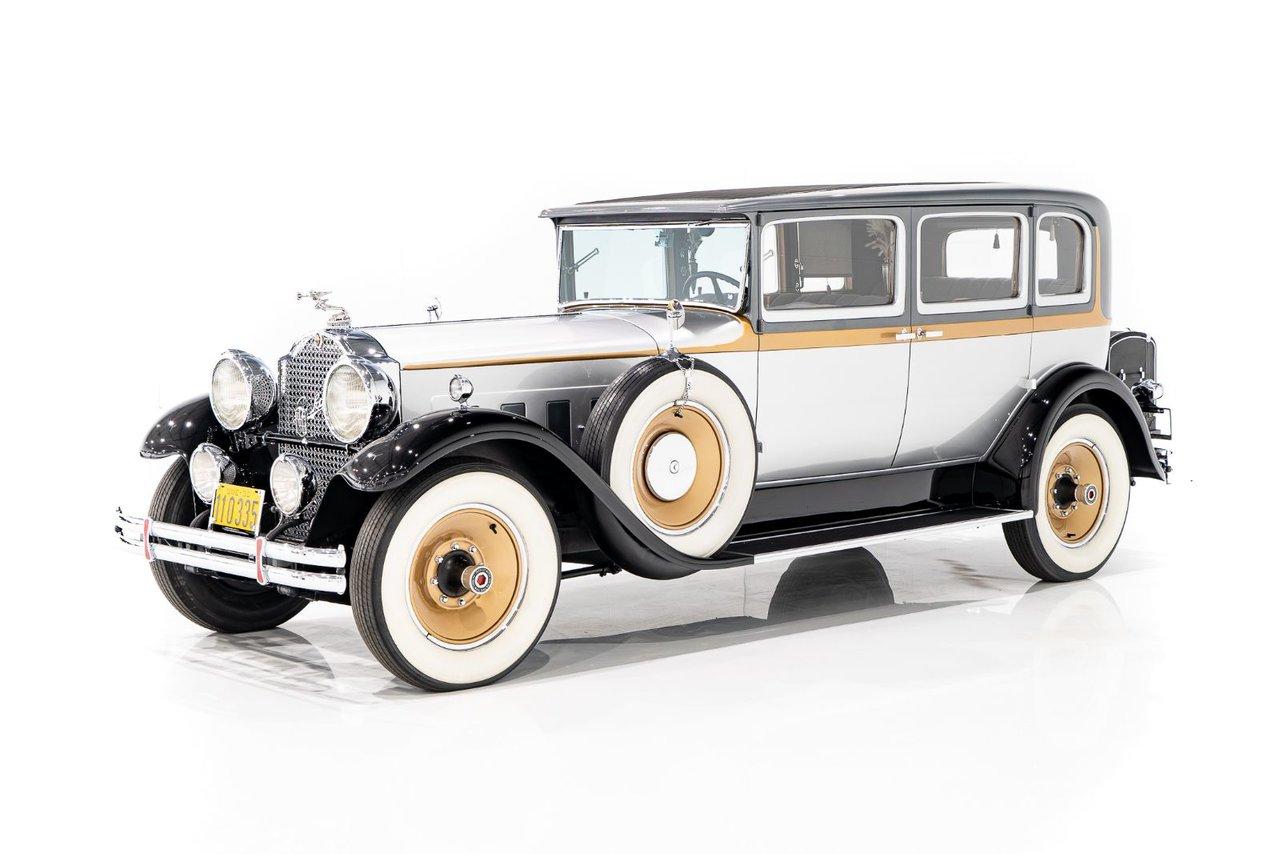 Packard 740 Formal Sedan 1930 #VIN-PC1372