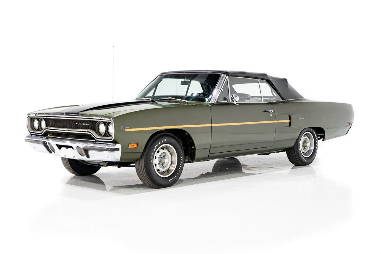 Plymouth Roadrunner 383 MATCHING NUMBERS 383, TRANSMISSION, RAD SUPPORT AND TRUNK LIP 1970