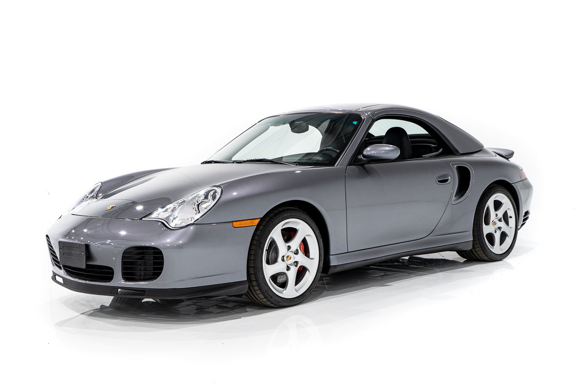 2004 Porsche 911 TURBO Cabriolet with Hardtop with only 17,796km (11,122 mi) From New