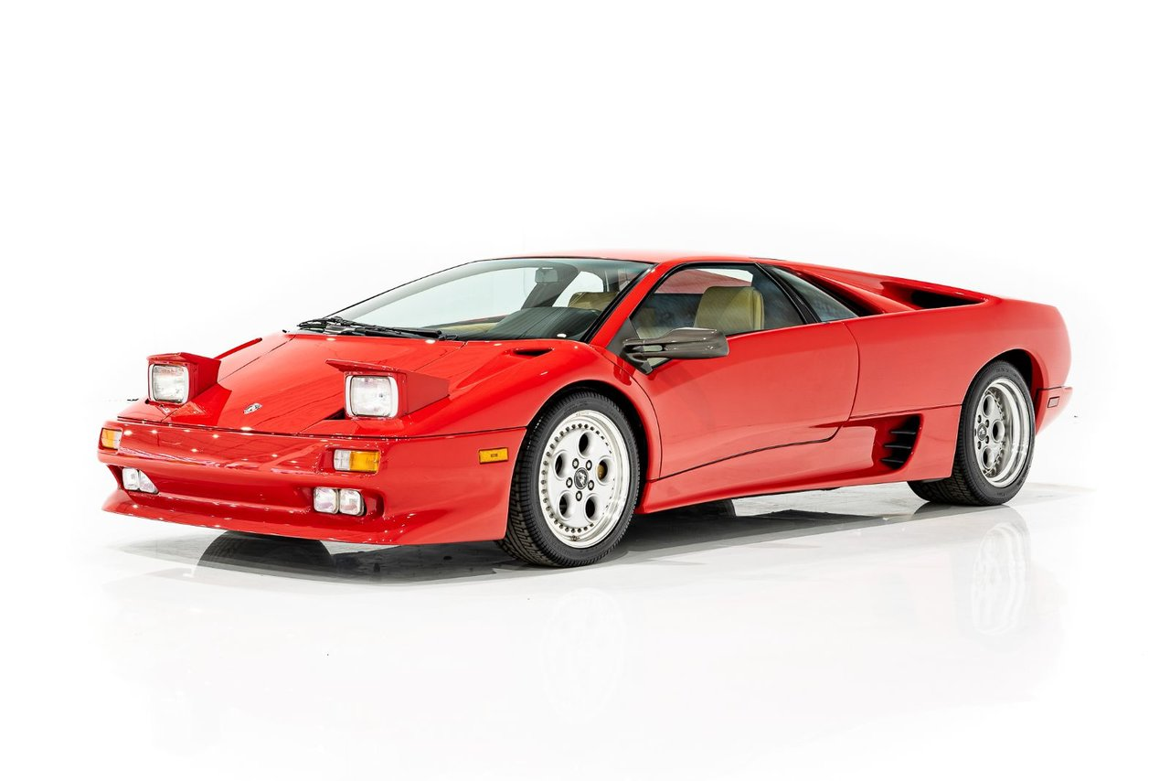 1991 Lamborghini Diablo 1 Of 401 First Year Production Completely Serviced