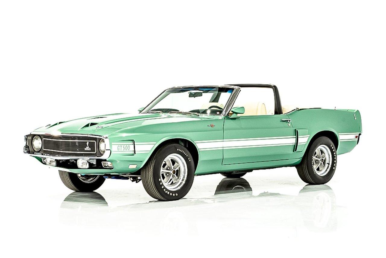 Shelby GT500 Matching Numbers 428 CJ, Climatisation d'origine, 87miles (138km) depuis restoration 1969