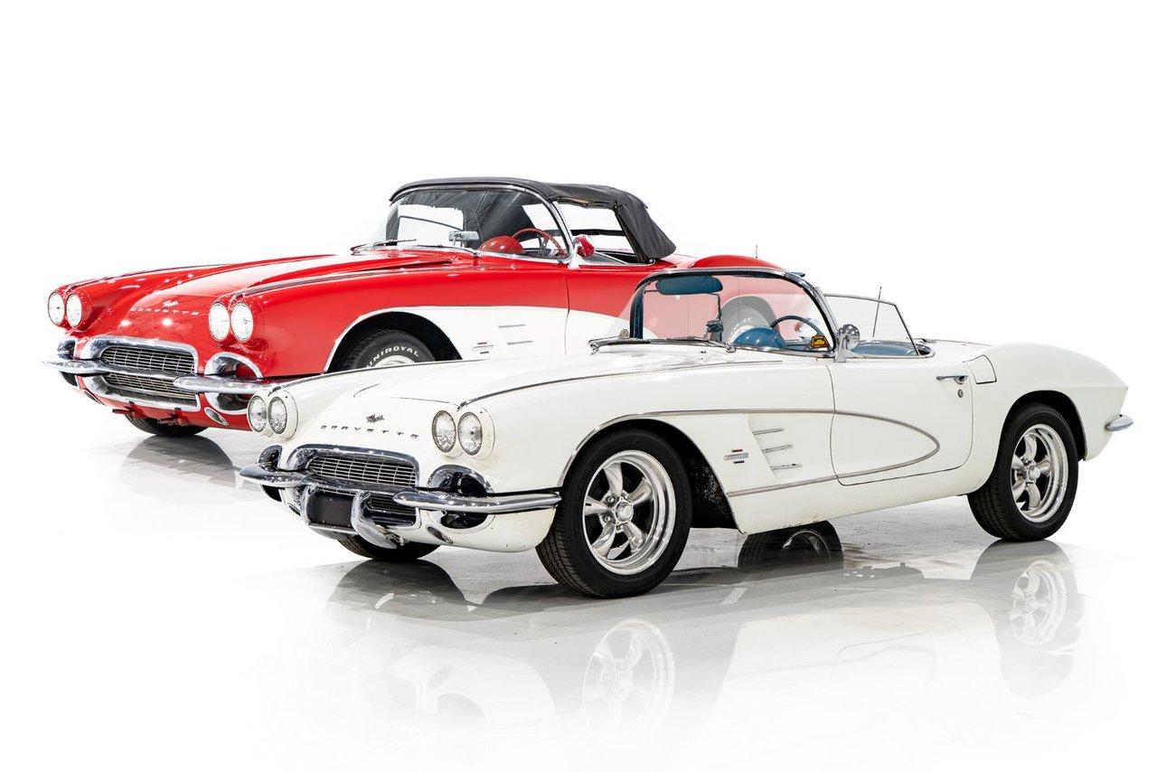Chevrolet Corvette Running Project Car Package Deal 1961