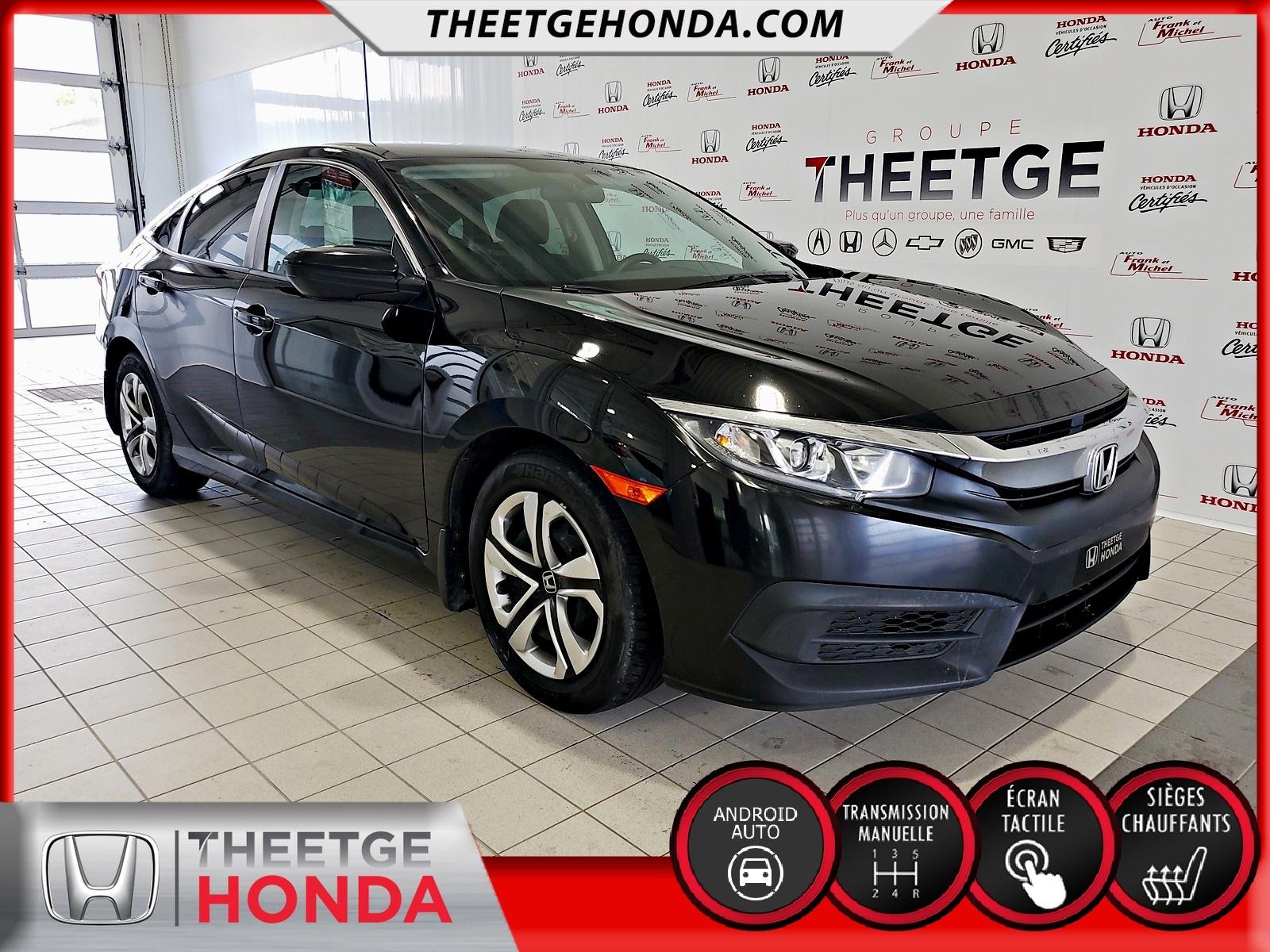 Honda Civic Sedan 4dr Man LX 2016 à vendre à Boischatel près de Québec