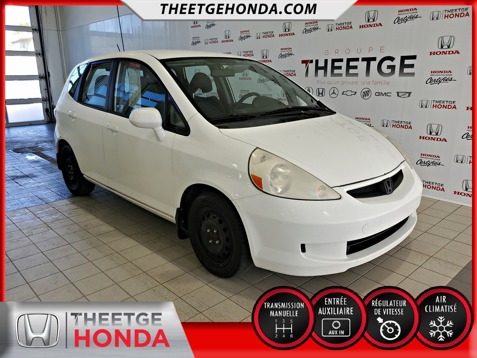 Honda Fit 5dr HB Man LX 2008