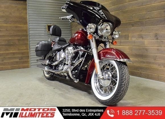 2008 Harley-Davidson FLSTN Softail Deluxe - Régulier 14695$ réduit 13495$